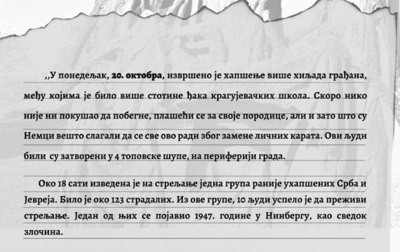 Kragujevački oktobar – 19. i 20. oktobar